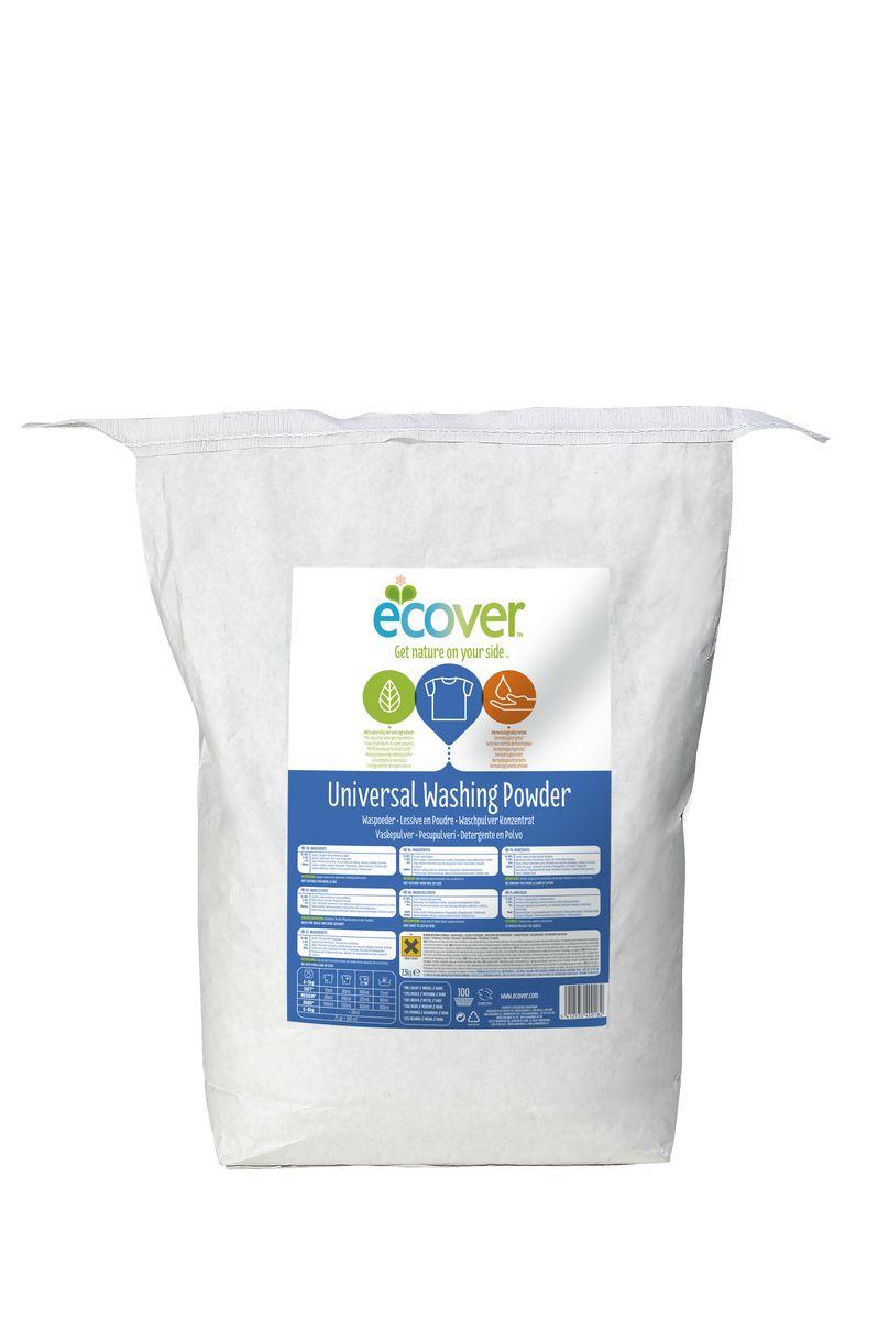 Экологический стиральный порошок Ecover, концентрат, универсальный, 7,5 кг экологический стиральный порошок ecover концентрат универсальный 3 кг