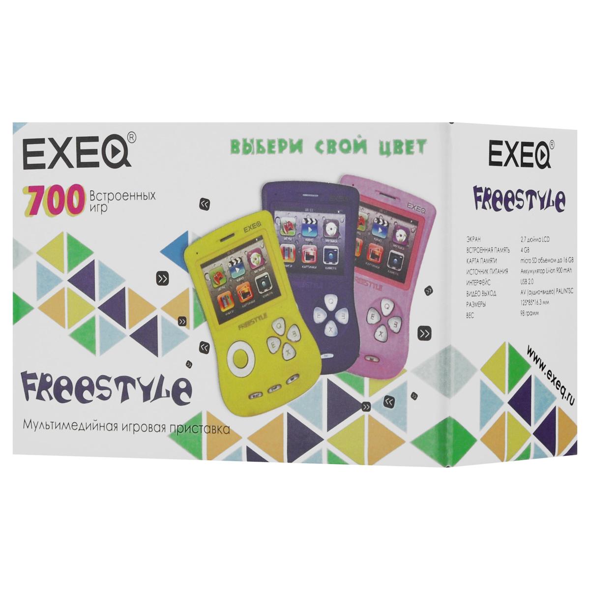 Игровая консоль EXEQ FreeStyle 2,7