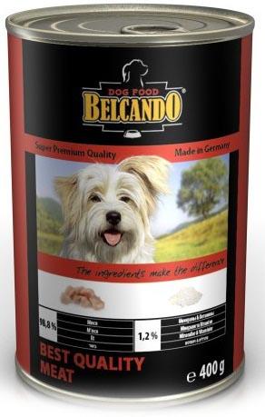 Консервы для собак Belcando, с отборным мясом, 400 г консервы для собак belcando с отборным мясом 800 г