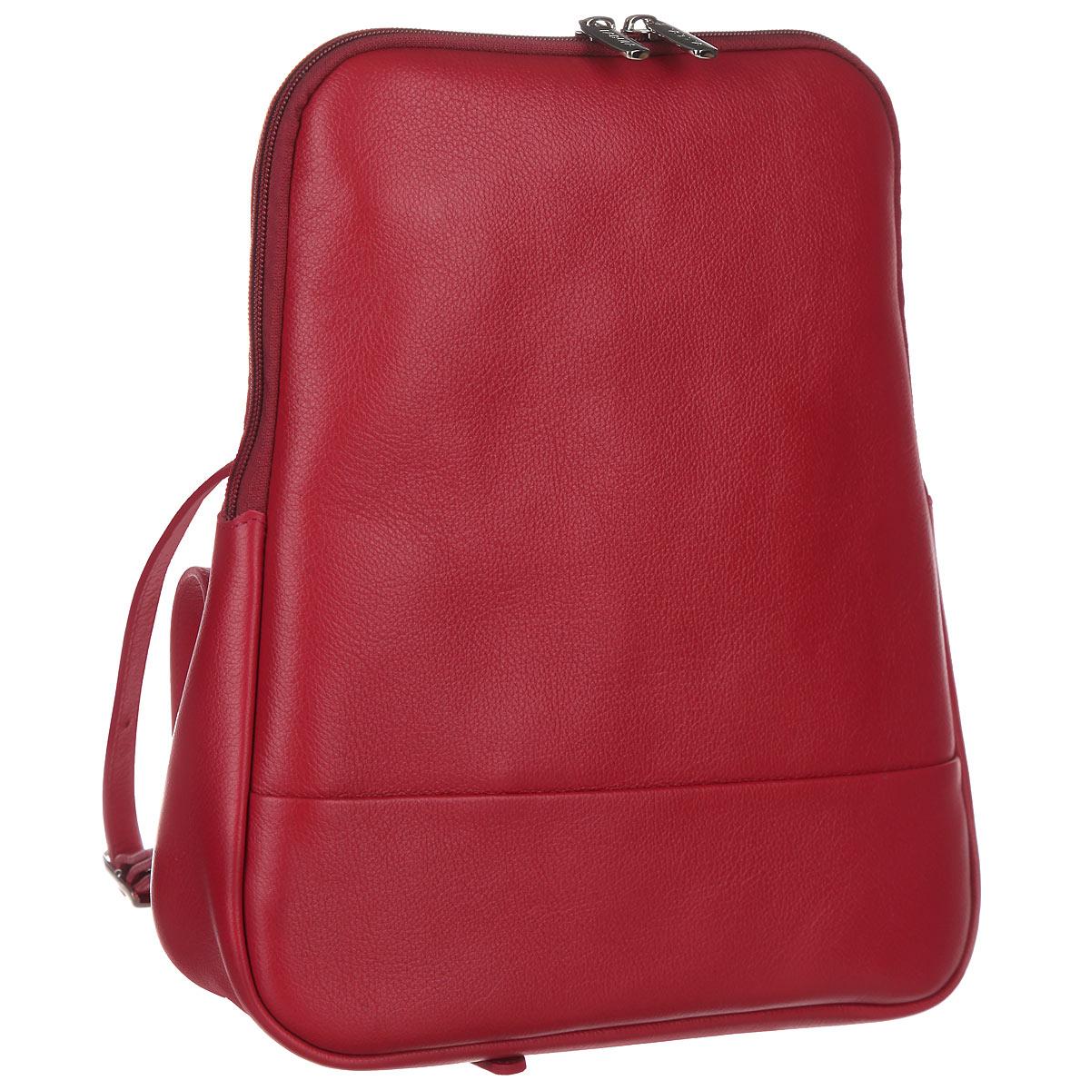 Рюкзак женский Fabula, цвет: ягодный. S.141.FP клатчи fabula s 124 fp zelenyj