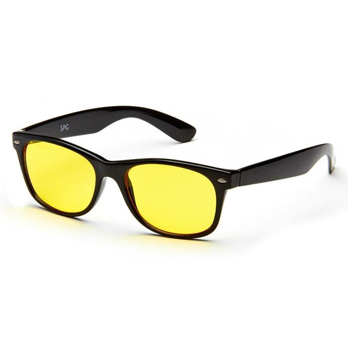 SP Glasses AD021 Luxury, Black водительские очки sys0076 3 0 diopter reading presbyopic glasses black