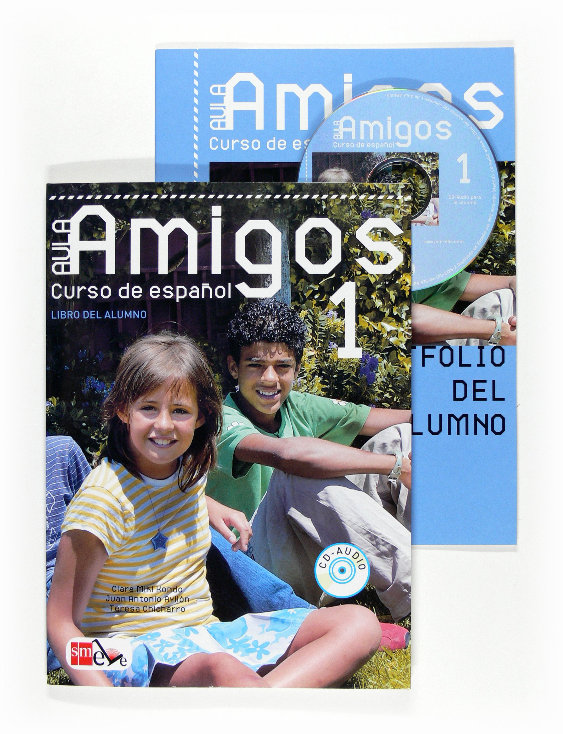 Aula Amigos Internacional: Pack del alumno: libro + portfolio (+ CD) nuevo suena 1 libro del alumno