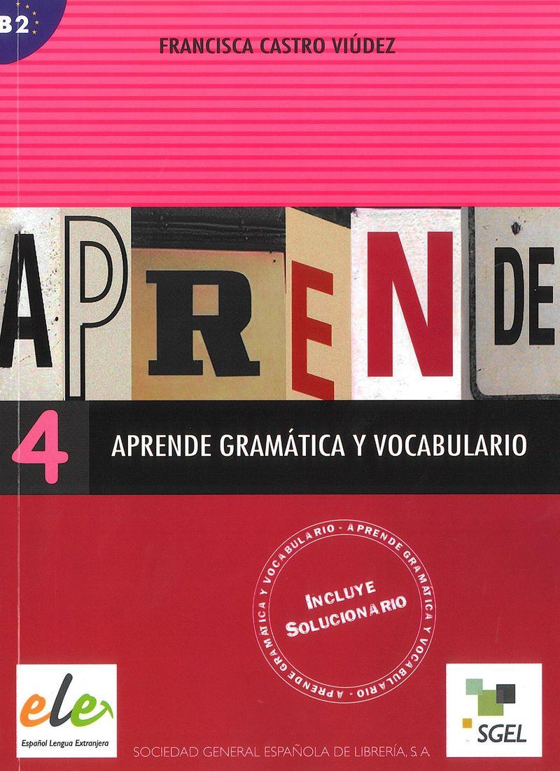 Aprende gramatica y vocabulario 4