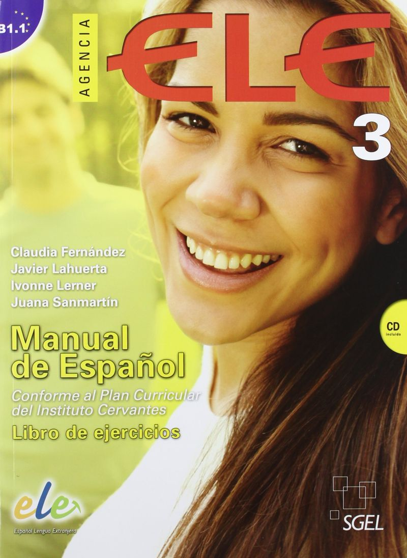 Фото - Agencia Ele 3 Exercises: Libro De Ejercicios (+ CD) interactive level 3 student s book with web zone access