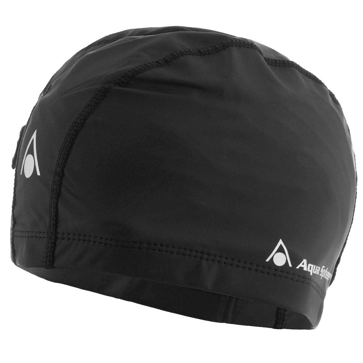 Шапочка для плавания Aqua Sphere Aqua Speed, цвет: черный беруши силиконовые aqua sphere 4 шт