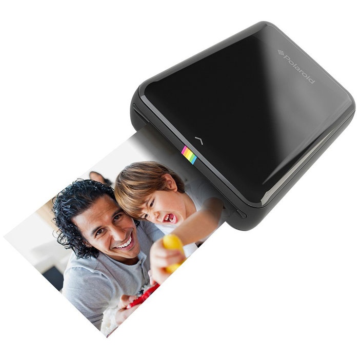 Принтер Polaroid Zip, Black карманный