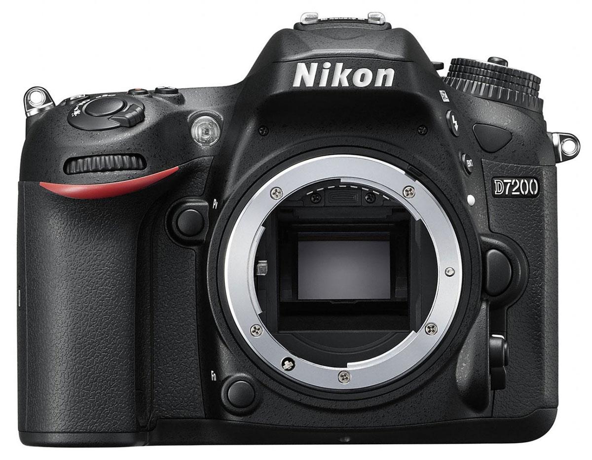 Зеркальный фотоаппарат Nikon D7200 Body, Black