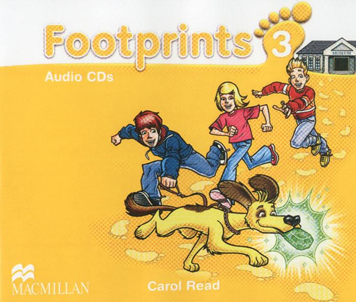 лучшая цена Footprints 3 (аудиокурс на 3 CD)