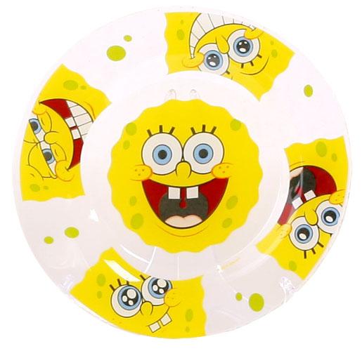 цена Губка Боб Тарелка Улыбки диаметр 19,5 см онлайн в 2017 году
