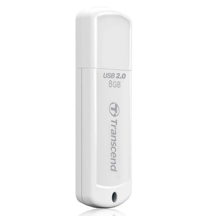 Transcend JetFlash 370 8GB USB-накопитель transcend jetflash 730 8gb white usb накопитель