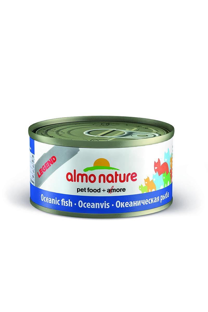 Фото - Консервы для кошек Almo Nature Legend, с океанической рыбой, 70 г консервы almo nature для кошек с океанической рыбой 85 г