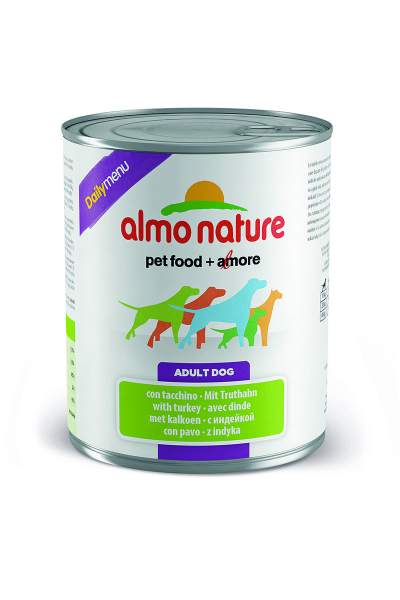 """Консервы для собак Almo Nature """"Daily Menu"""", с индейкой, 800 г"""