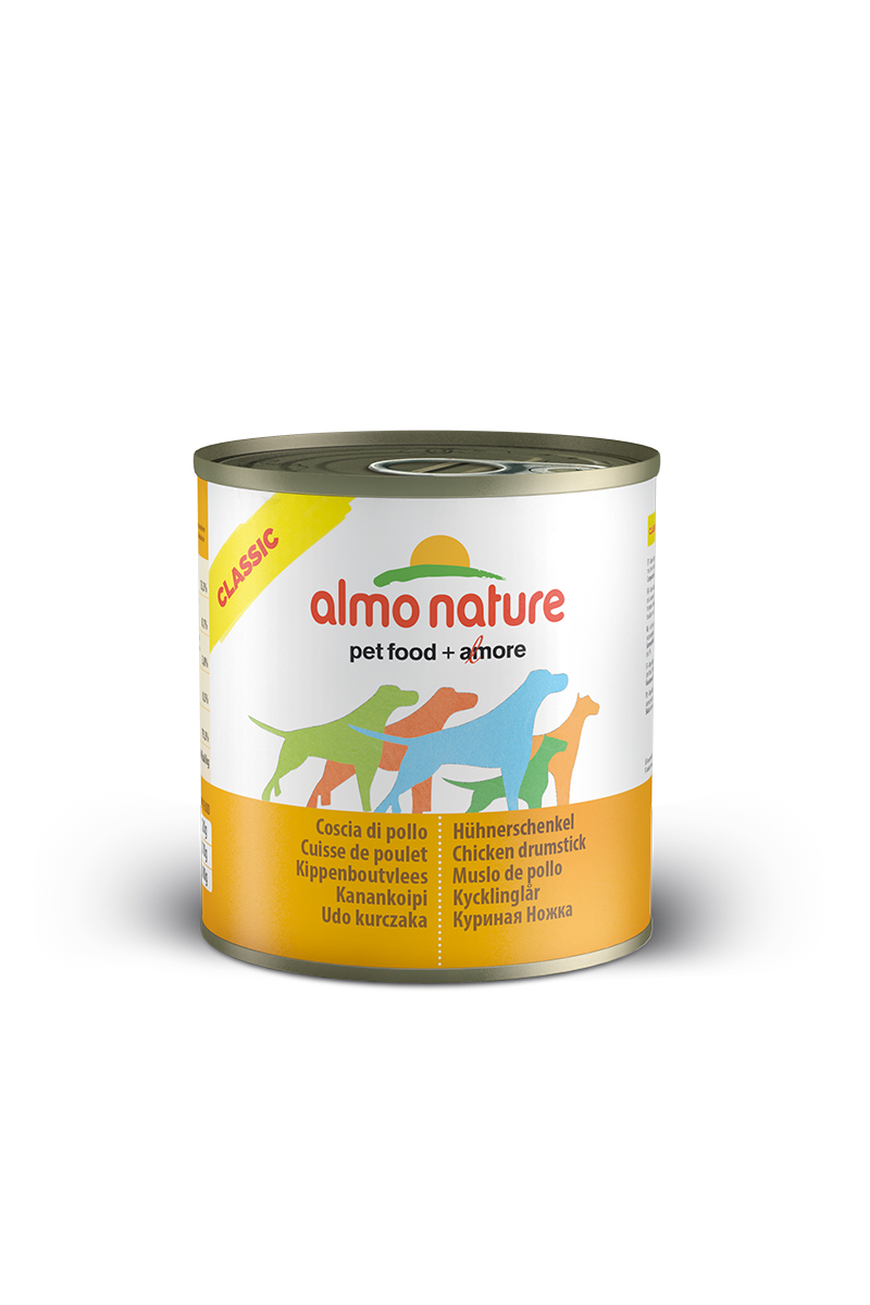 "Консервы для собак Almo Nature ""Classic"", куриные бедрышки, 280 г"