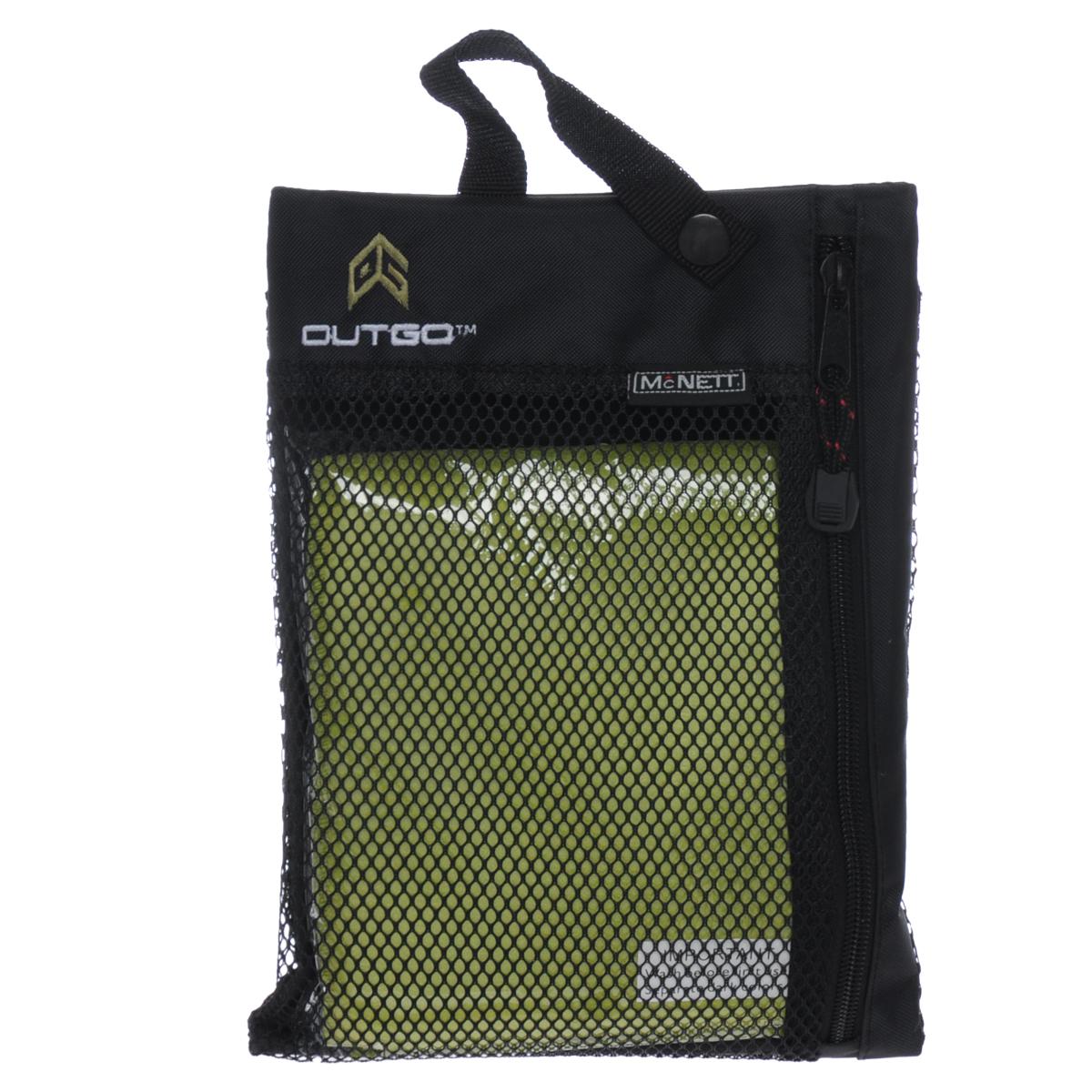 Полотенце McNett Outgo, цвет: зеленый, 77 см х 128 см цена