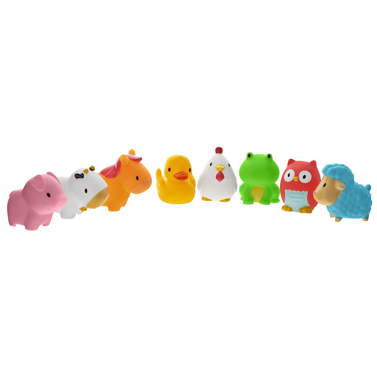 "Набор игрушек для ванны Munchkin ""Squirtin' Farmyard Friends"", 8 шт"