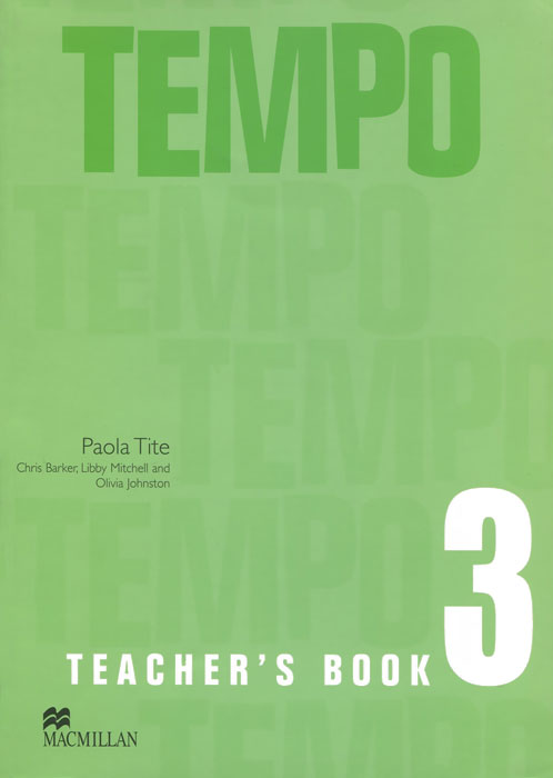 Tempo 3: Teacher's Book