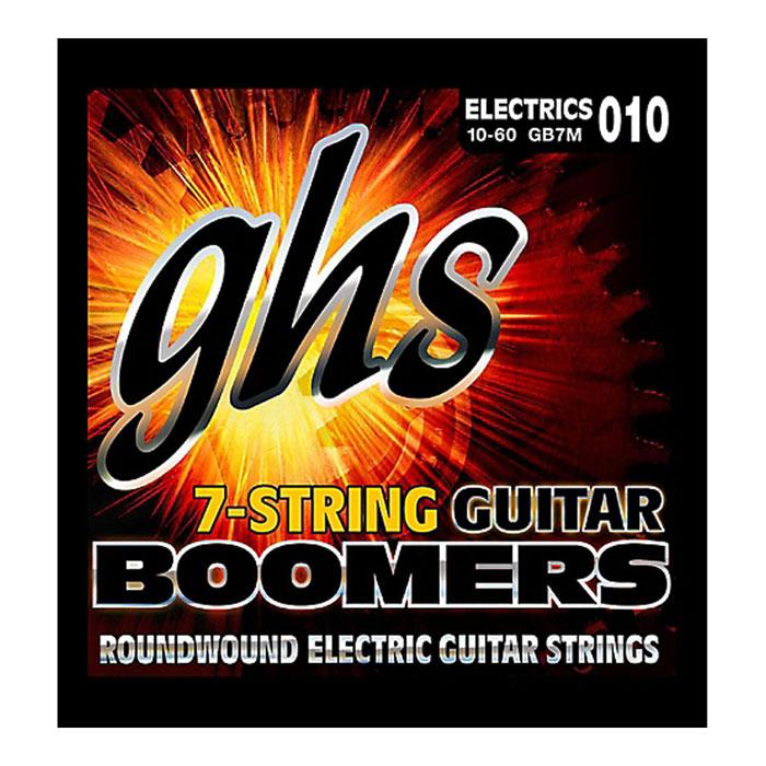 GHS GB7M Boomers струны для электрогитары