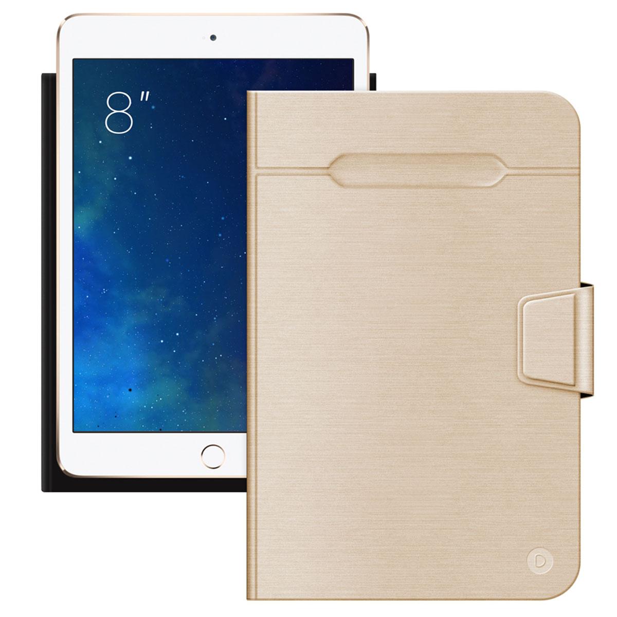 Чехол-подставка для планшетов Wallet Fold 8'', золотой, Deppa стоимость