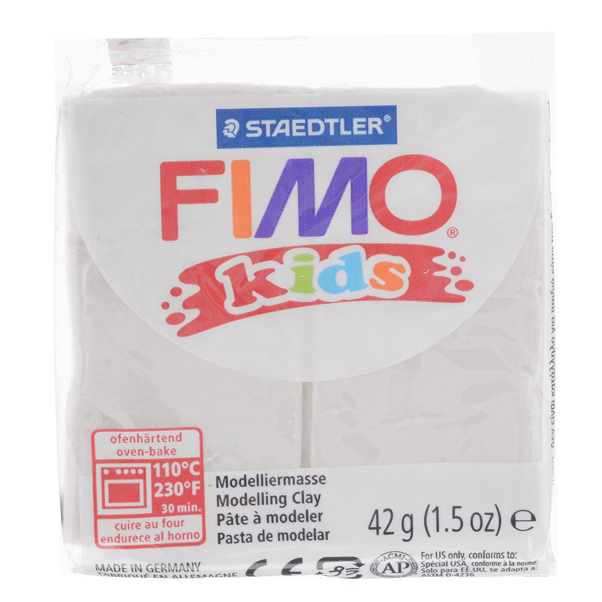 """Полимерная глина для детей Fimo """"Kids"""", цвет в ассортименте, 42 г"""
