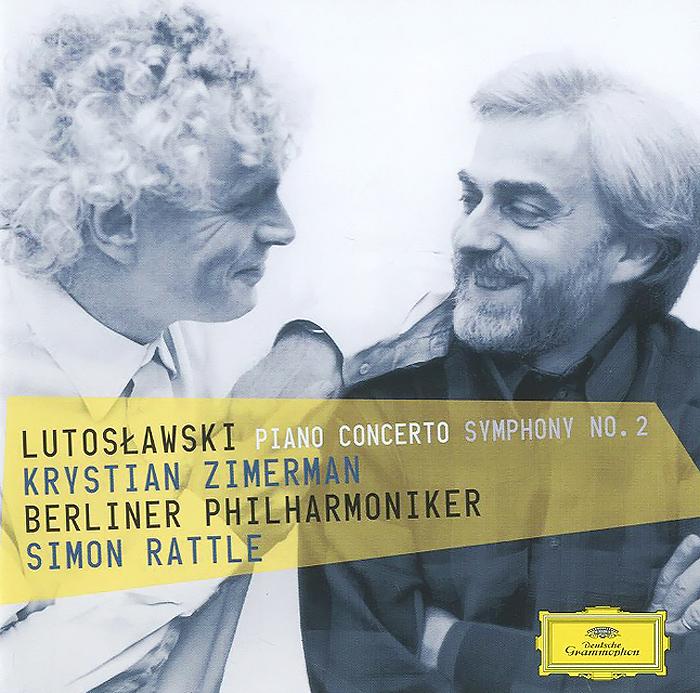 Кристиан Цимерман,Berliner Philharmoniker,Саймон Рэттл Krystian Zimerman. Lutoslawski. Piano Concerto Symphony No. 2 саймон хелси мария тодтенхаупт йерг штродтофф berliner rundfunkchor simon halsey morgenlicht