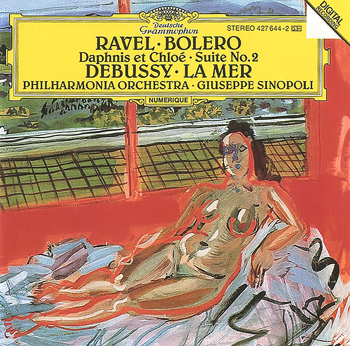 лучшая цена Джузеппе Синополи,Philharmonia Orchestra,Кеннет Смит Giuseppe Sinopoli. Ravel. Bolero / Daphnis Et Chloe - Suite No.2 / Debussy. La Mer