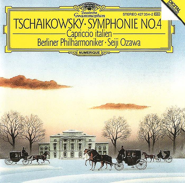 Сейджи Озава,Berliner Philharmoniker Seiji Ozawa. Tchaikovsky. Symphonie No. 4 / Capriccio Italien sushi by seiji