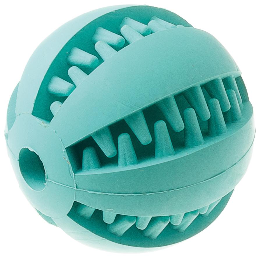 Фото - Игрушка резиновая с запахом мяты с отверстием Мяч малая 6 см 13105 кость duvo freshmint резиновая с ароматом мяты 10134 14 см