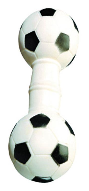 """Игрушка для собак V.I.Pet """"Гантель футбольная"""""""