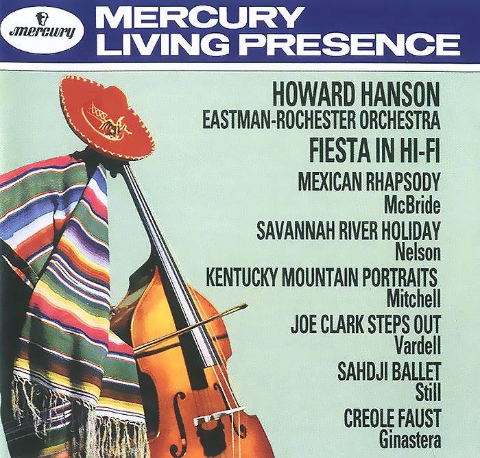лучшая цена Ховард Хэнсон,Eastman-Rochester Orchestra & Chorus Howard Hanson. Fiesta In Hi-Fi