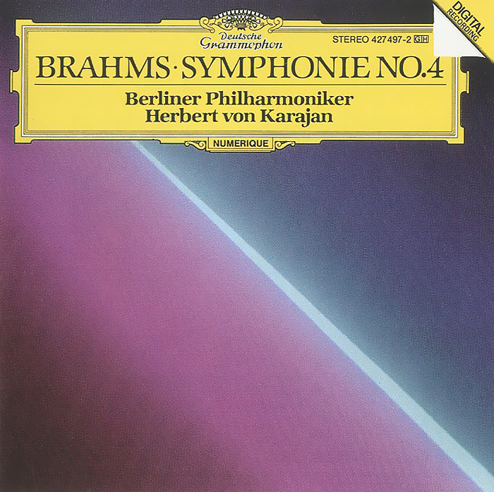 Герберт Караян,Berliner Philharmoniker Herbert Von Karajan. Brahms. Symphonie No. 4 цена и фото