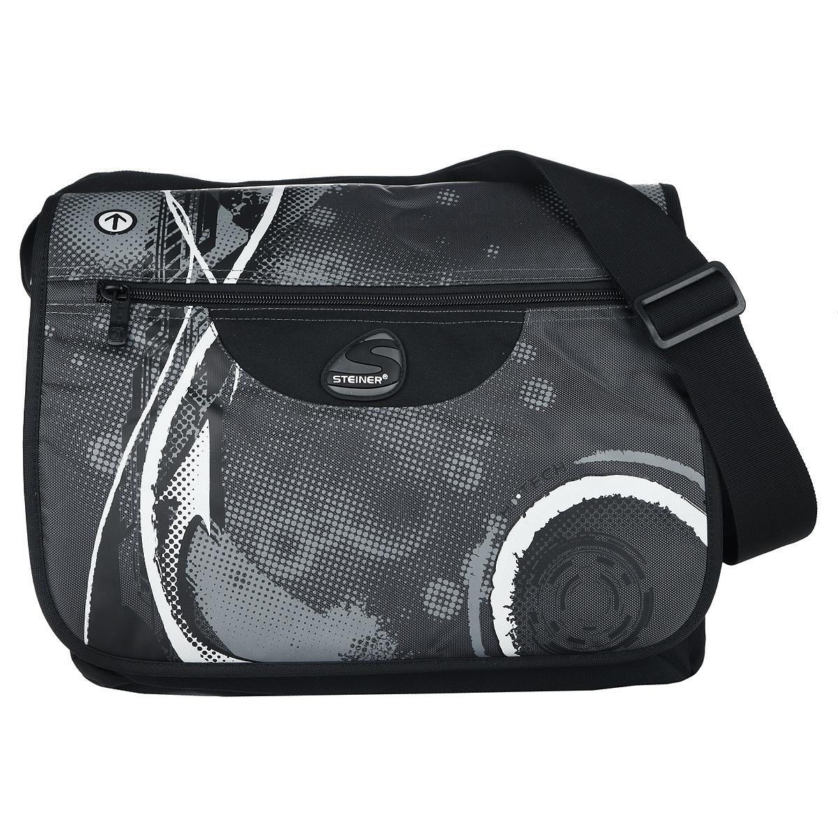 Steiner Сумка школьная черный серый бинокль steiner discovery 8x44
