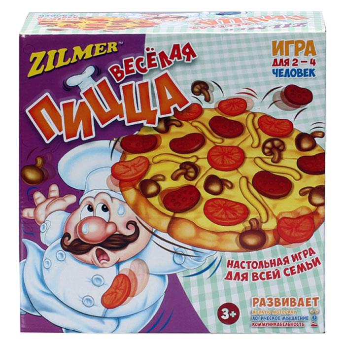 Zilmer Настольная игра Веселая пицца игра настольная юный повар пицца 20х3 5х24 5см