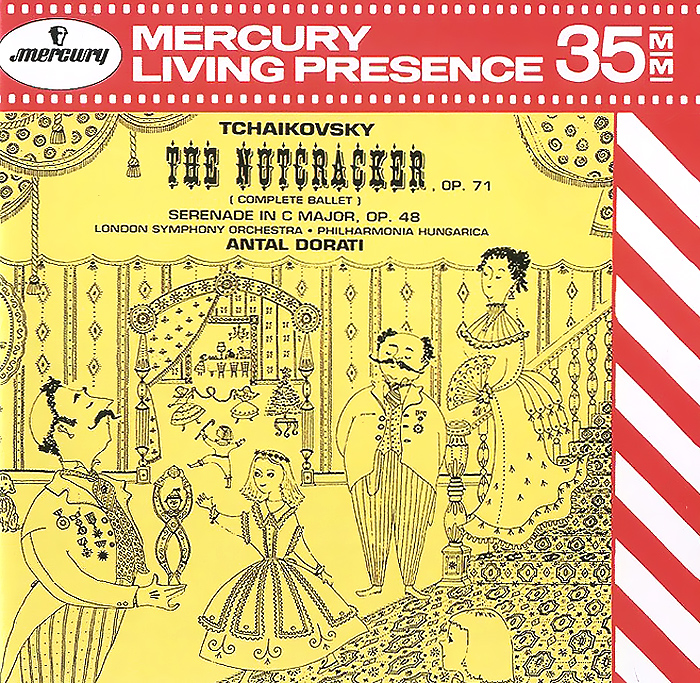 Антал Дорати,The London Symphony Orchestra,Philarmonia Hungarica Orchestra Antal Dorati. Tchaikovsky. The Nutcracker, Op.71 / Serenade In C Major, Op. 48 (2 CD) r wüerst unterm balcon serenade op 78