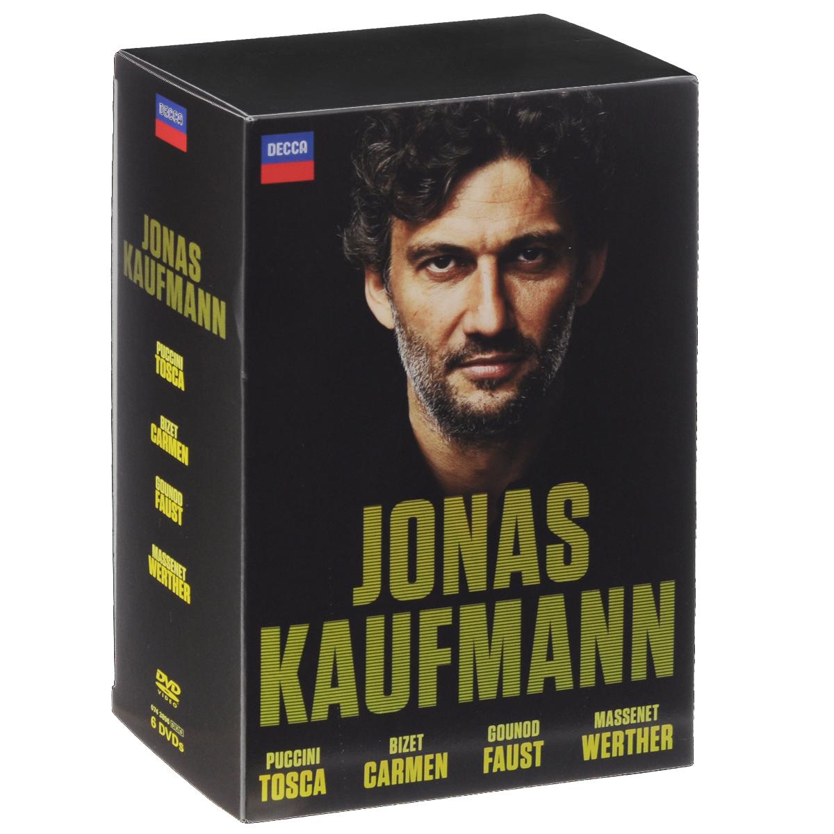 Jonas Kaufmann: Bizet: Carmen / Puccini: Tosca / Gounod: Faust / Massenet: Werther (6 DVD) massenet cendrillon 2 dvd
