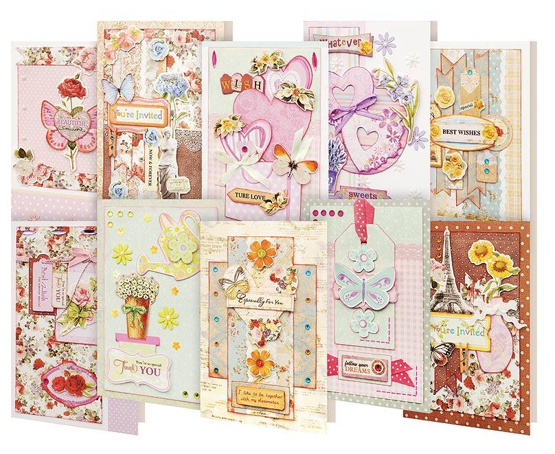 Набор для создания открыток Белоснежка Радужный, 10 шт набор для создания открыток белоснежка 10 шт 250 sb