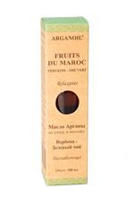 Дом Арганы Fruits du Maroc Масло арганы для ухода и массажа Вербена - Зеленый чай, 100 мл вербена лимонная масло эфирное 100% 10мл