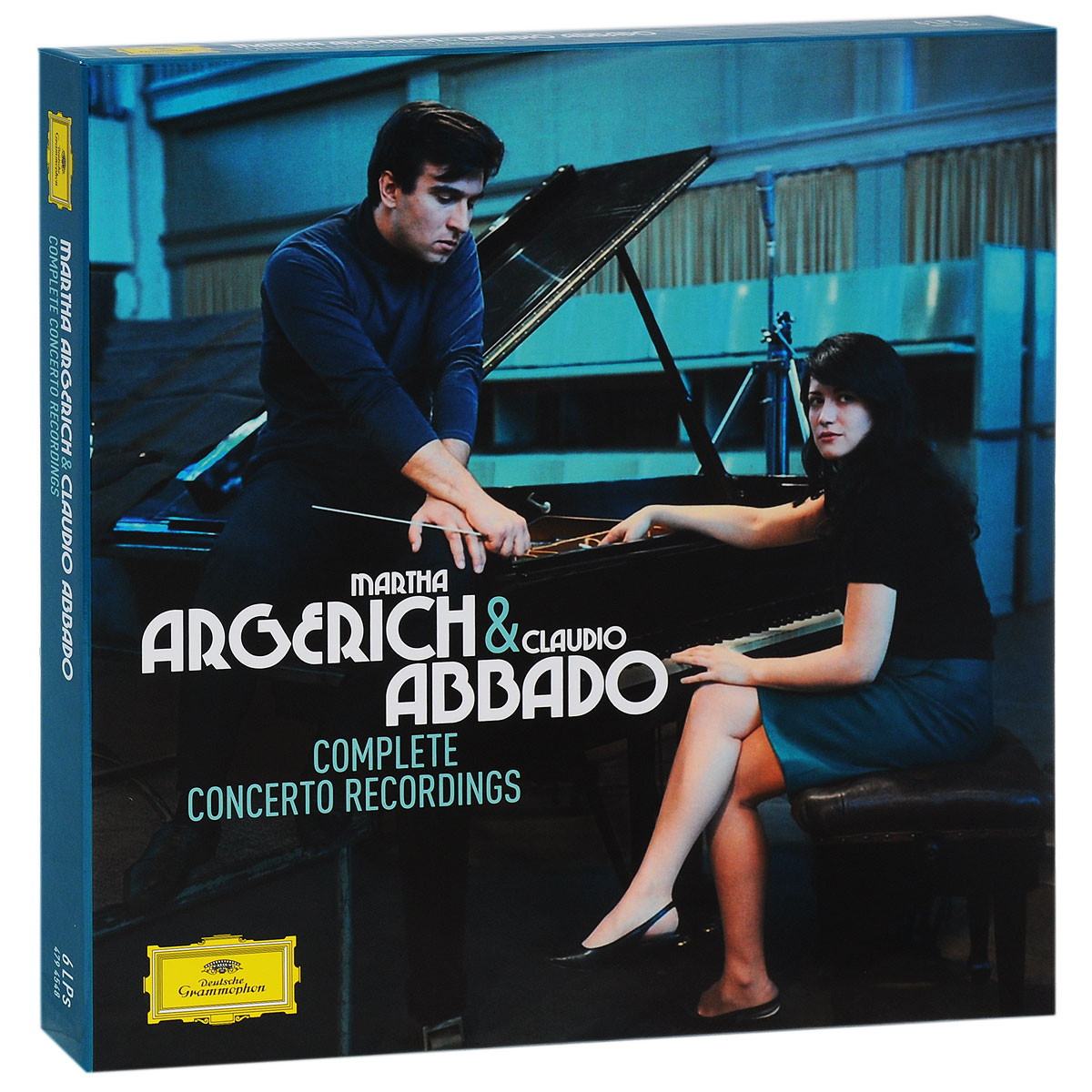Марта Аргерих,Berliner Philharmoniker,Клаудио Аббадо,The London Symphony Orchestra,Mahler Chamber Orchestra,Orchestra Mozart Martha Argerich & Claudio Abbado. Complete Concerto Recordings. Limited Edition (6 LP) марта аргерих berliner philharmoniker клаудио аббадо the london symphony orchestra mahler chamber orchestra orchestra mozart martha argerich page 7 page 4 page 7