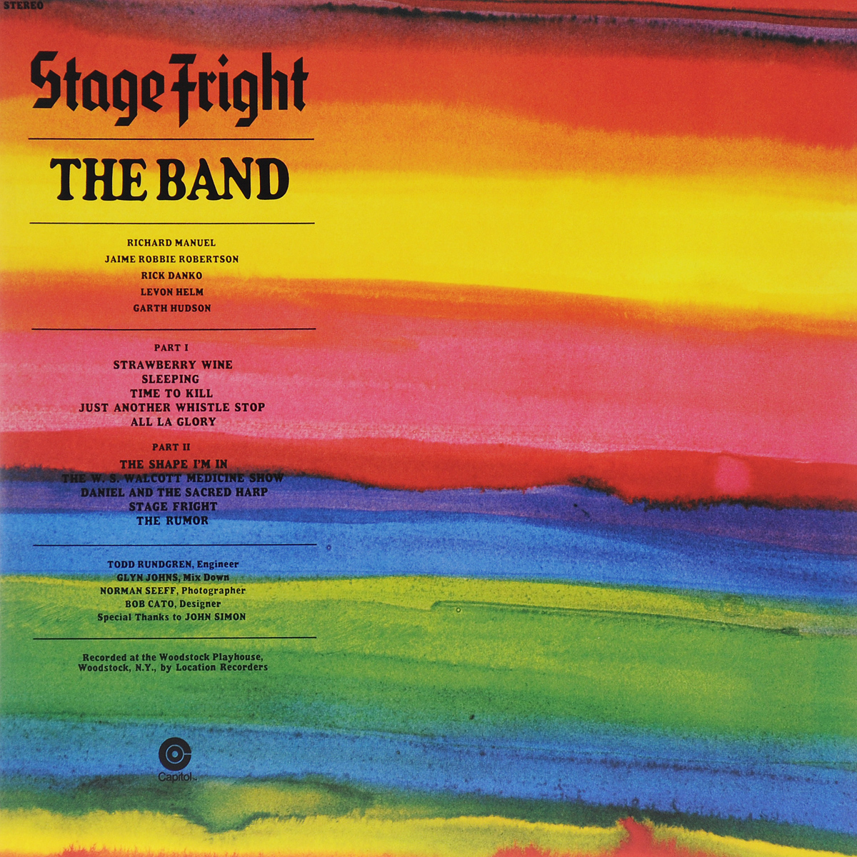 The Band The Band. Stage Fright (LP) king s vincent b ред flight or fright