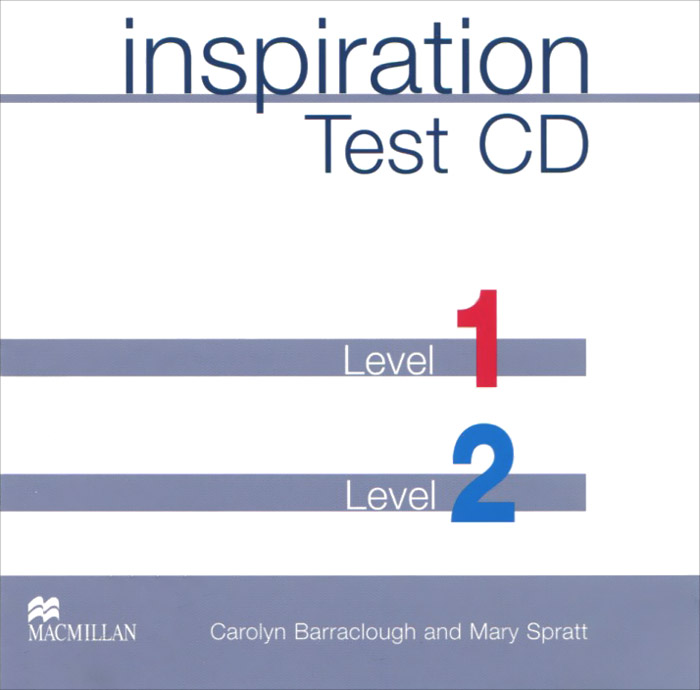Inspiration: Test CD: Level 1, 2 (аудиокнига на 2 CD) oxford phonics world 2 student book 2 cd rom