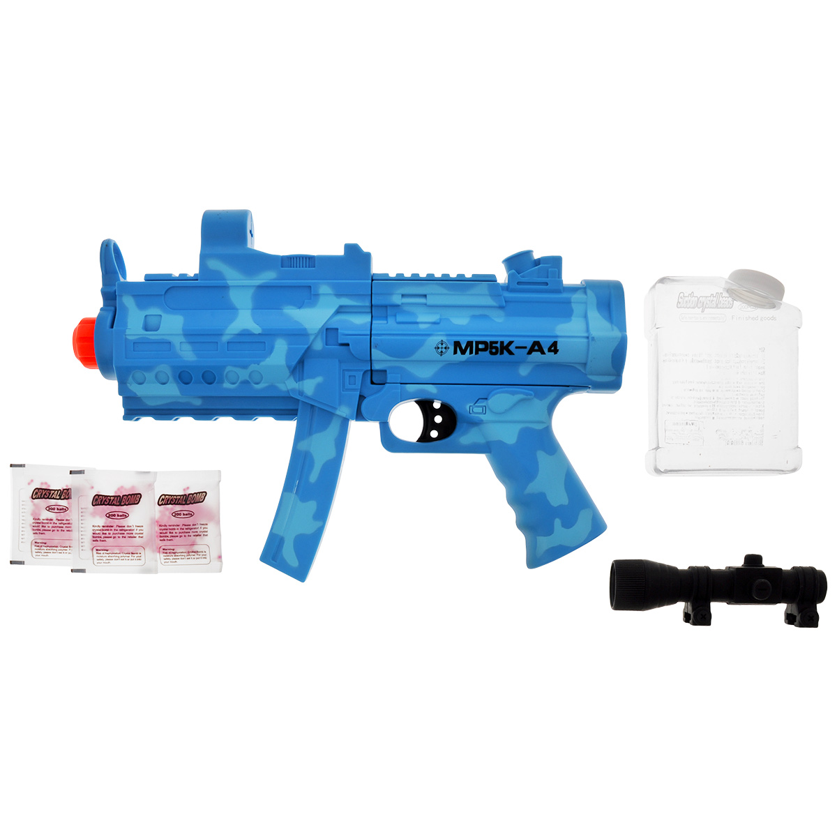 цена на Mioshi Автомат Army Специальная миссия цвет голубой