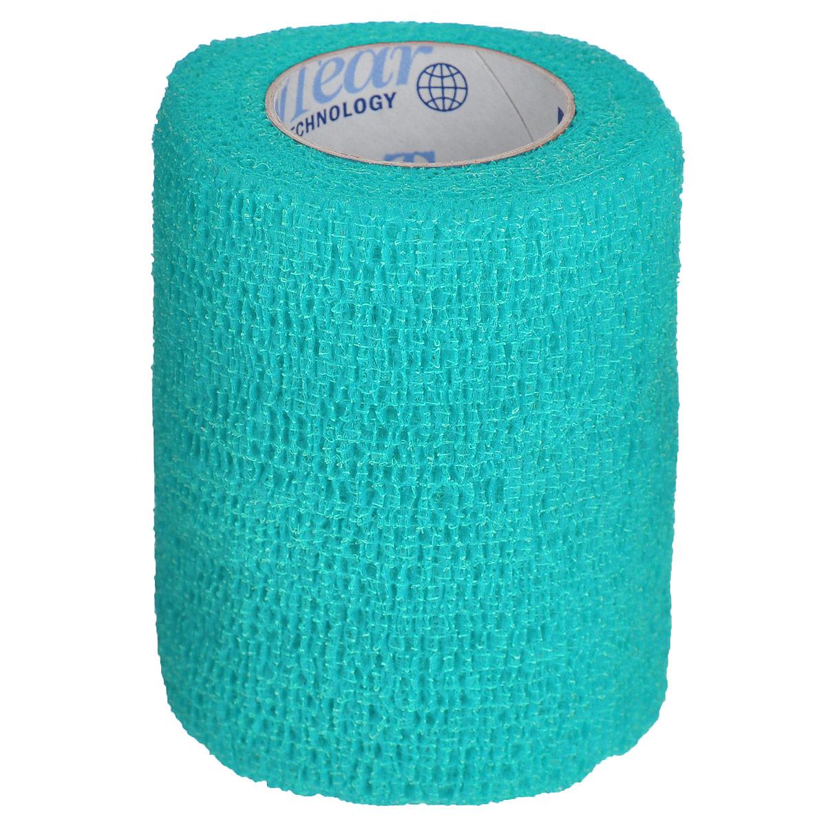 """Бандаж для животных Andover """"Pet Flex"""", цвет: бирюзовый, 7,5 см х 450 см"""