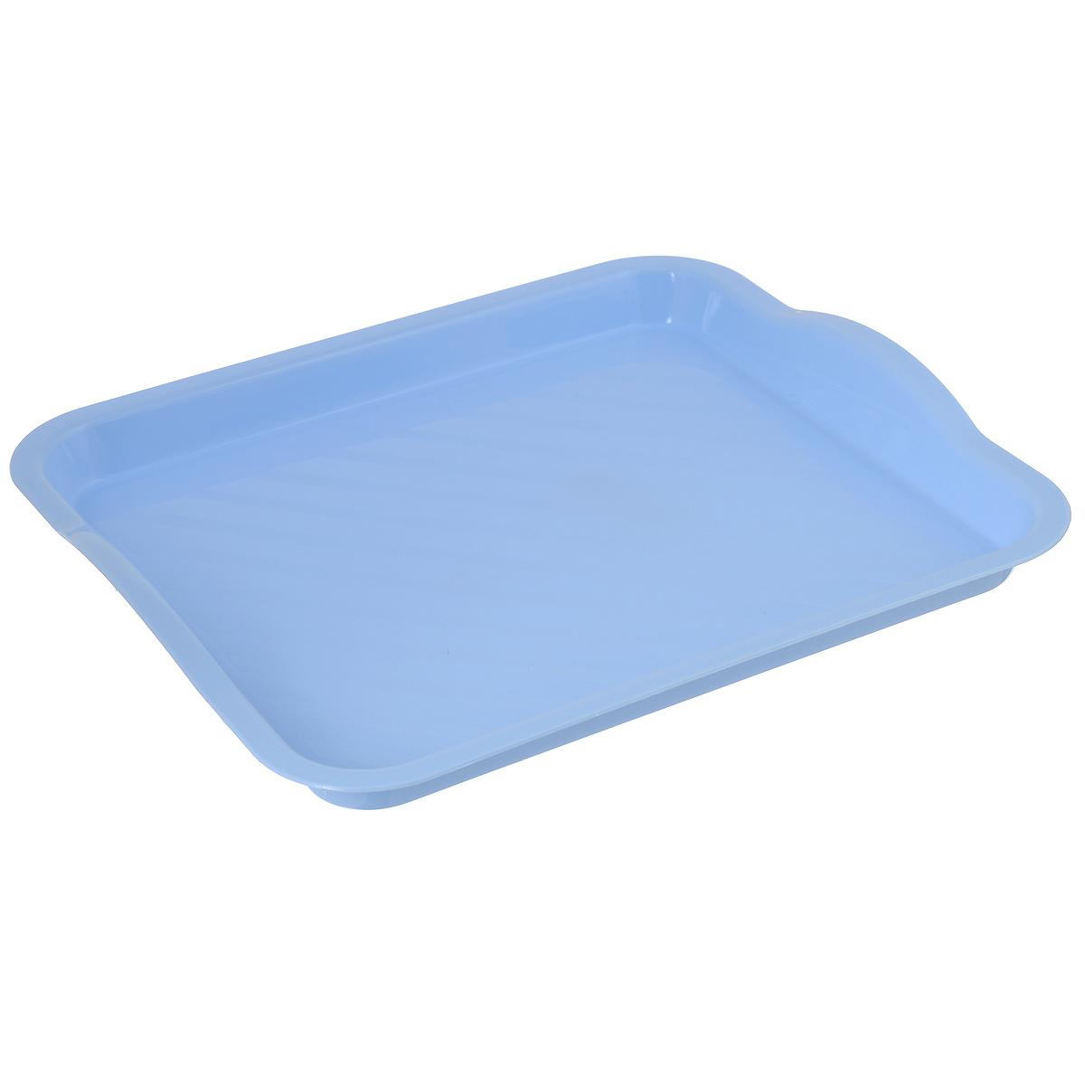 "Поднос ""Idea"", цвет: голубой, 29 см х 25 см"