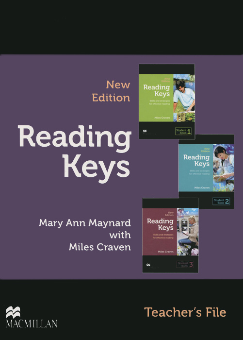 Reading Keys- New Edition All Levels Teacher's File with Test +R Pack r 923 mini 2 mode ebook reading light with clip