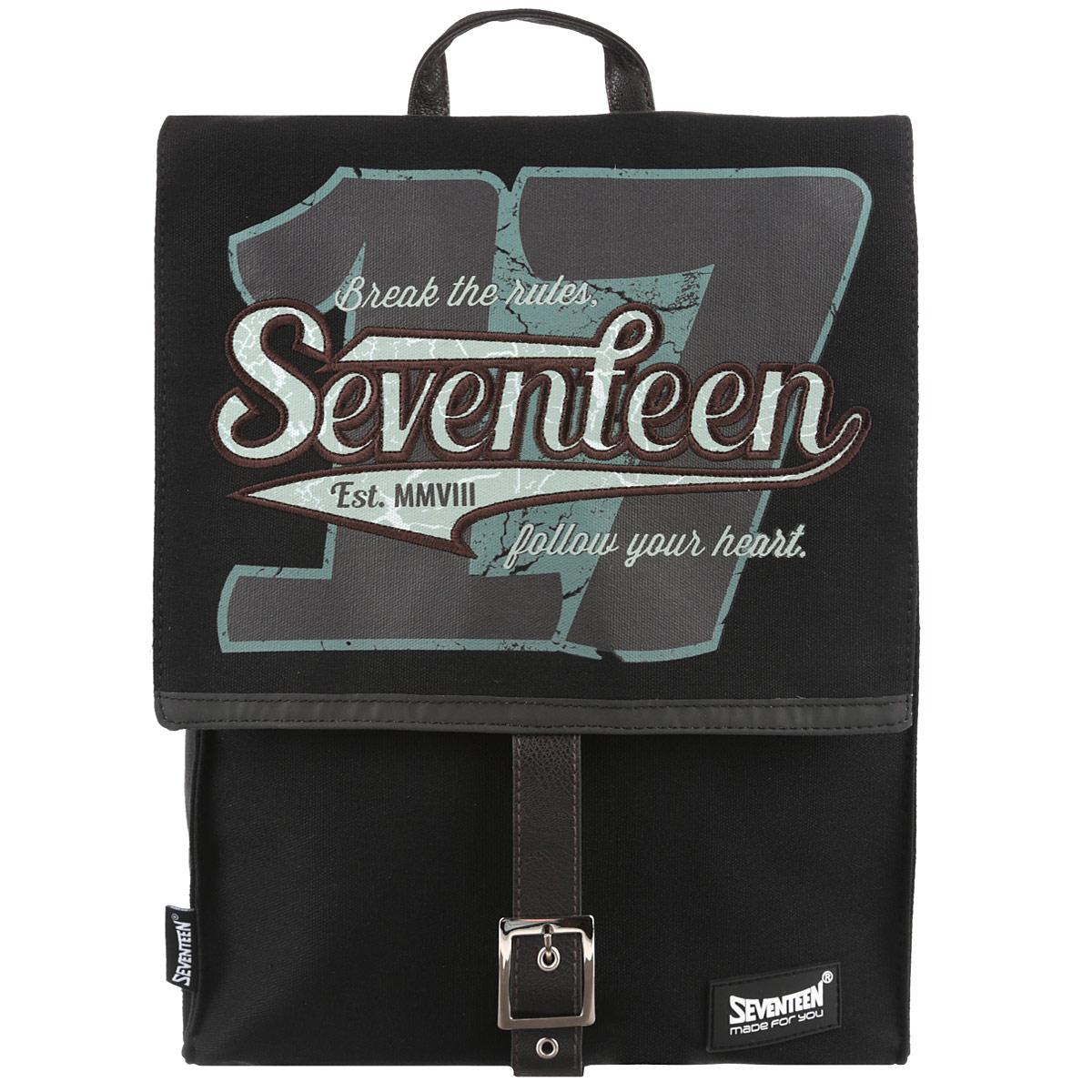 Рюкзак Kinderline Seventeen, цвет: черный. SVCB-RT4-577