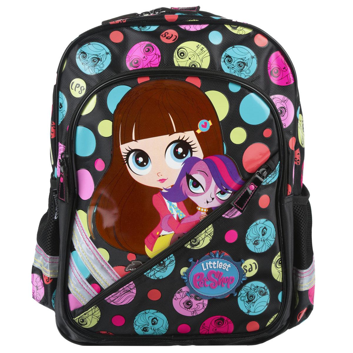 Рюкзак подростковый Kinderline Littlest Pet Shop, цвет: черный, розовый. LPCB-RT2-786 pet shop boys brasília