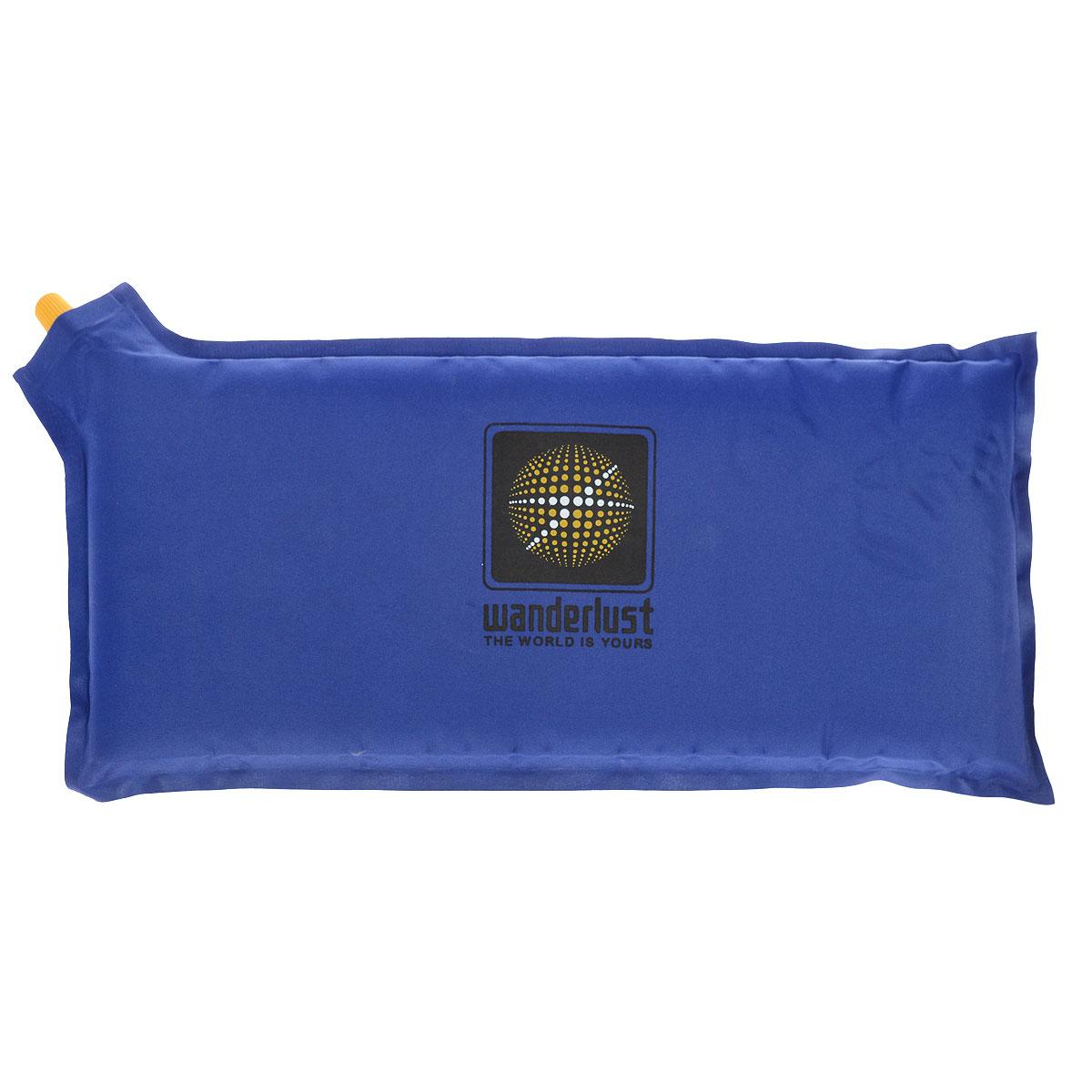 Коврик-сиденье Wanderlust Seat III, самонадувающийся, цвет: синий цена
