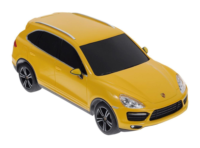 Машина р/у 1:24 Porsche Cayenne Turbo, 3 цвета, пластмасса(желтая)Машина р/у 1:24 Porsche Cayenne Turbo, 3 цвета, пластмасса(желтая) автомобиль на радиоуправлении 1 12 kidztech porsche cayenne s