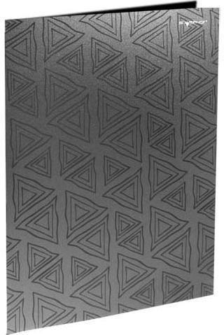 Папка с двумя боковыми карманами, р=0.4мм, DELTA, пепельная арт.255024-23 ед.изм.Шт