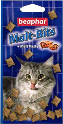 """Подушечки для кошек с мальт-пастой Beaphar """"Malt-Bits"""", 150 г, 300 шт"""