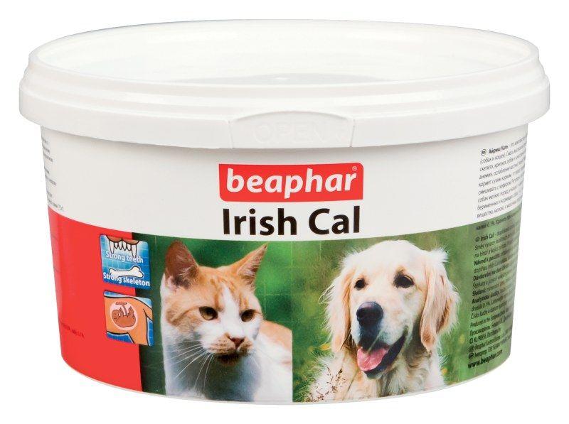 """Минеральная смесь Beaphar """"Irish Cal"""", с повышенным содержанием солей кальция, 250 г"""